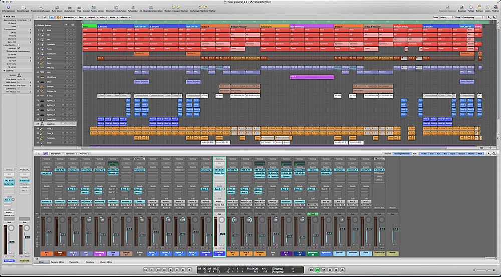 Song Logic Pro 9