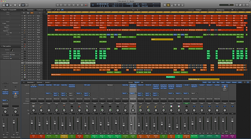 Song Logic Pro X