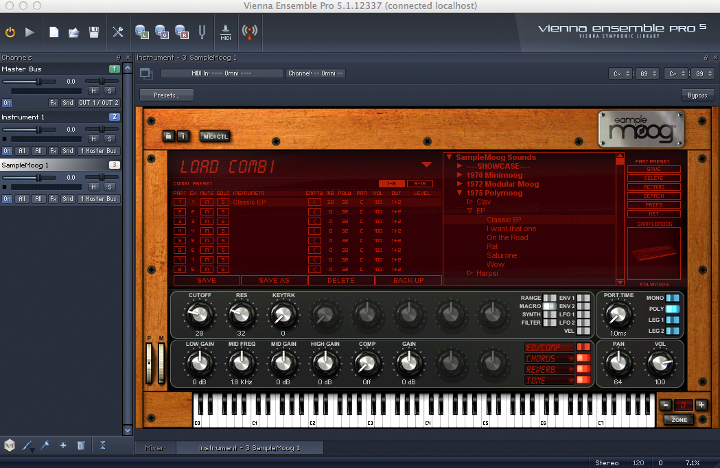 Plug-in IK Multimedia Sample Moog (32-Bit)