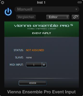 Event Input