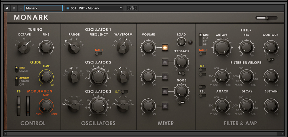 Native Instruments Monark