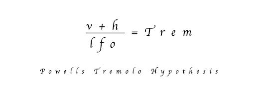 Dan Powells Tremolo-Formel