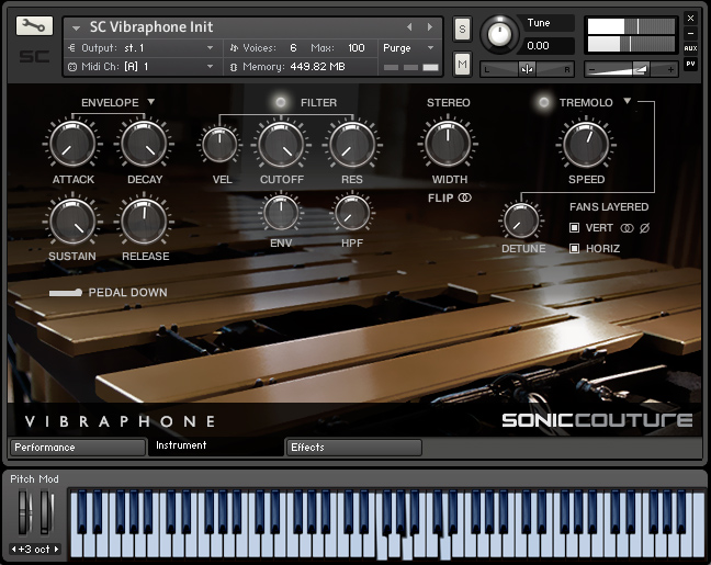 Vibraphone Instrument Page