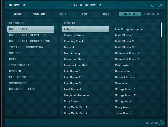 Layer Browser