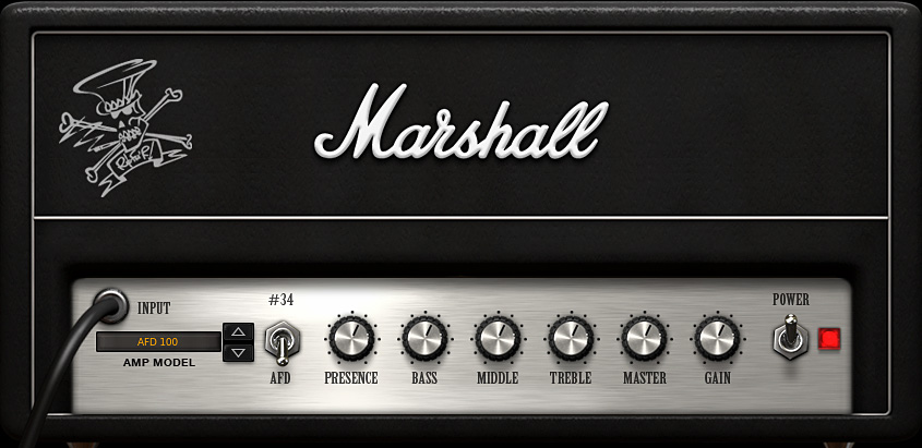 "AmpliTube 3 Collection ""Slash"", Marshall Amp"