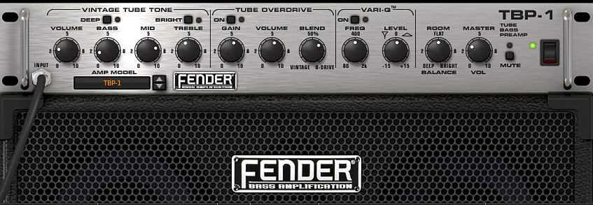 AmpliTube 3 Fender Collection, Bassamp TBP