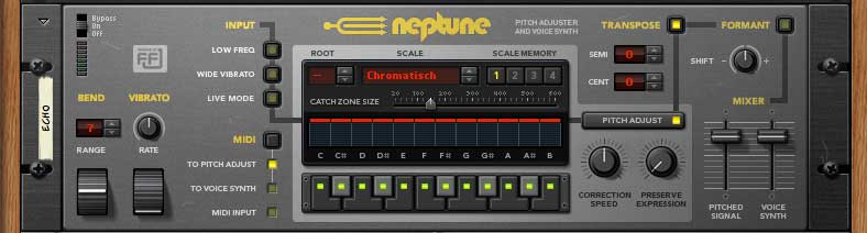 Pitch Correction Tool NepTune