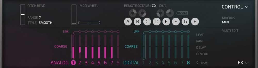 MIDI-Controls