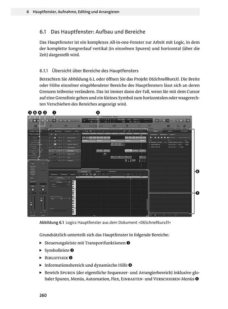 Eine Seite der gedruckten Ausgabe des Buches (Abb. verkleinert)