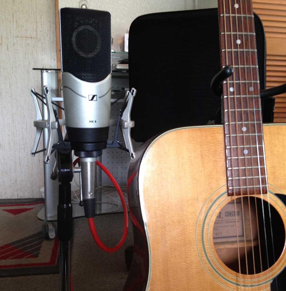 MK 8 und Ibanez Westerngitarre