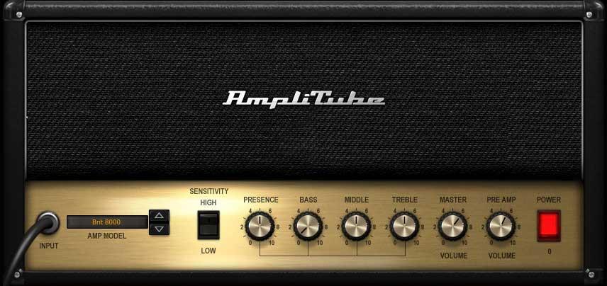 """Amp """"Brit 8000"""""""