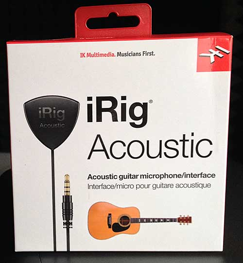 iRig Acoustic in Originalverpackung