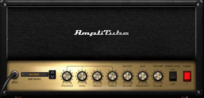 """Amp """"Brit 9000"""""""