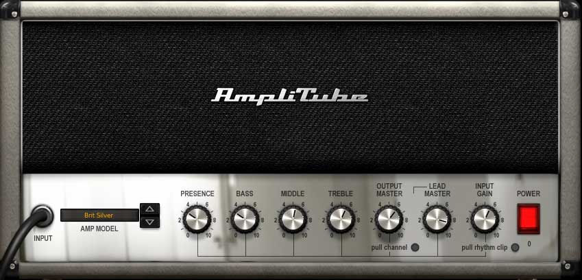 "Amp ""Brit Silver"""
