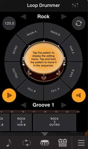 Drum Tracks inspirieren mehr als ein Metronom