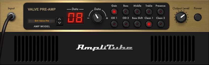"""Amp """"Brit Valve Pre-Amp"""