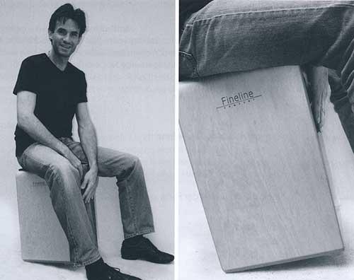 Sitzposition (Abb. aus dem Anleitungsbuch)