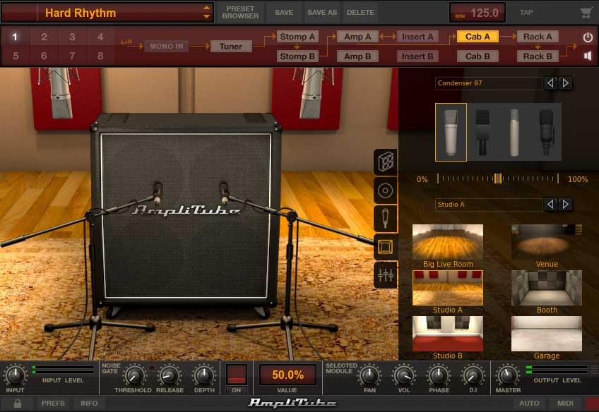 Studio A wurde als Raum gewählt-