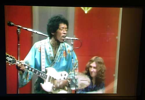 Jimi Hendrix, TV-Show 1969