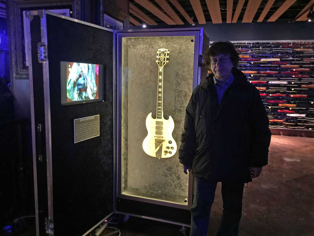 Jimi's Gibson SG