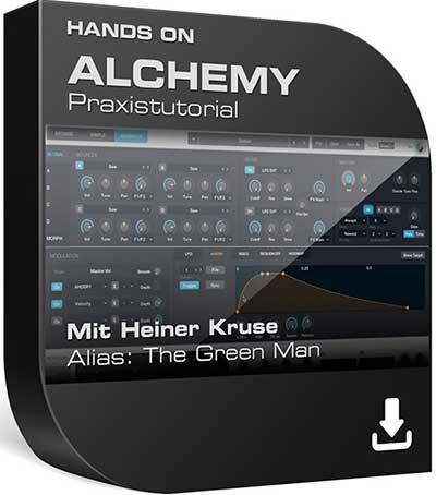 Super-Synthesizer ALCHEMY, gehört zum Lieferumfang von Logic