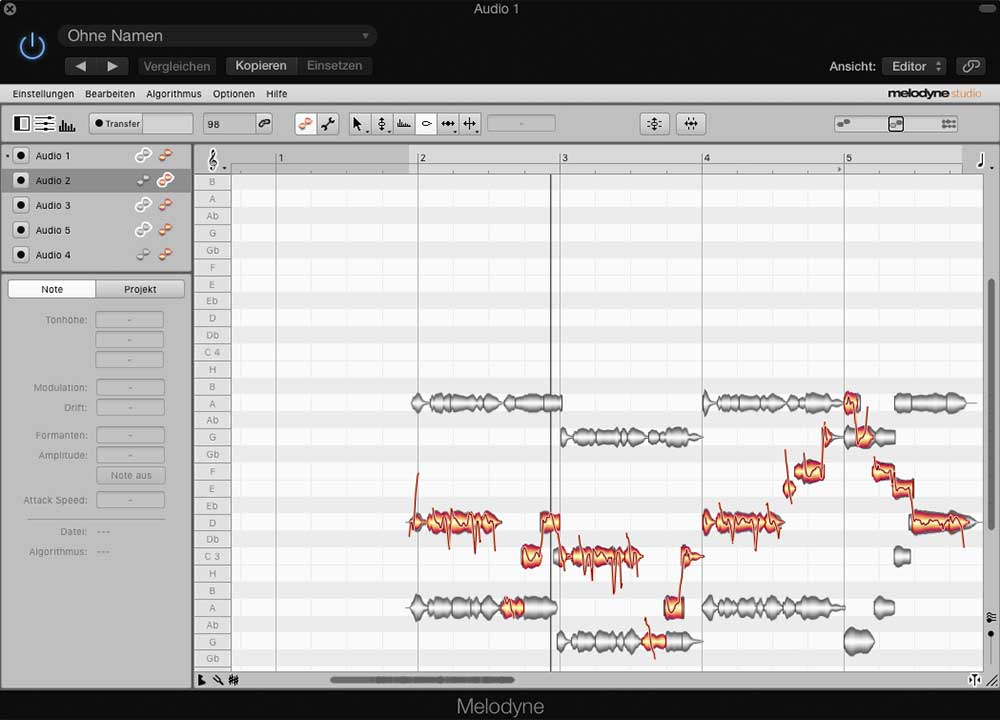 Plug-in, Multitrack Editor