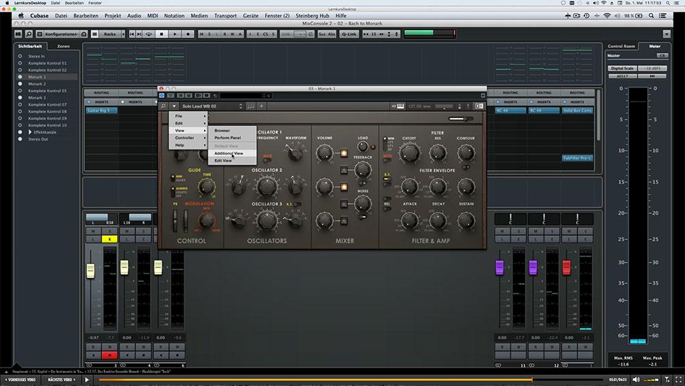 """NI Synthesizer """"Monark"""""""