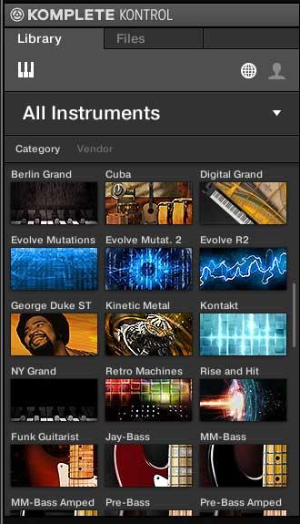 Native Instruments KOMPLETE Browser