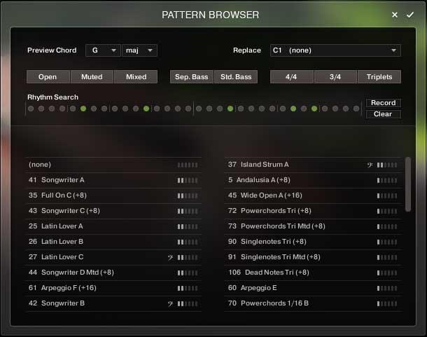 Der Pattern Browser