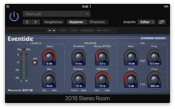 Eventide 2016 Stereo-Room