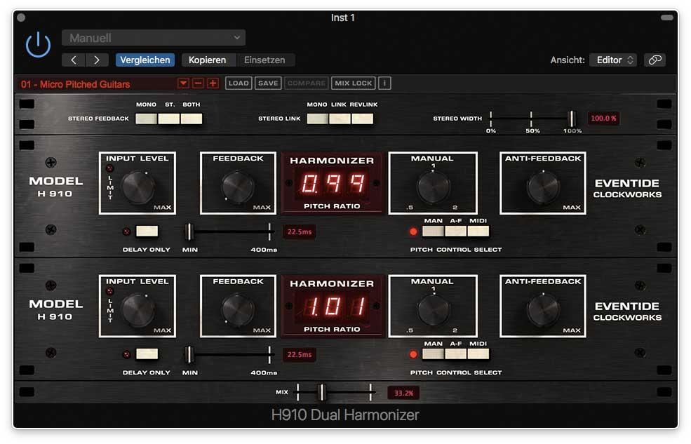 Eventide Harmonizer H910 Dual