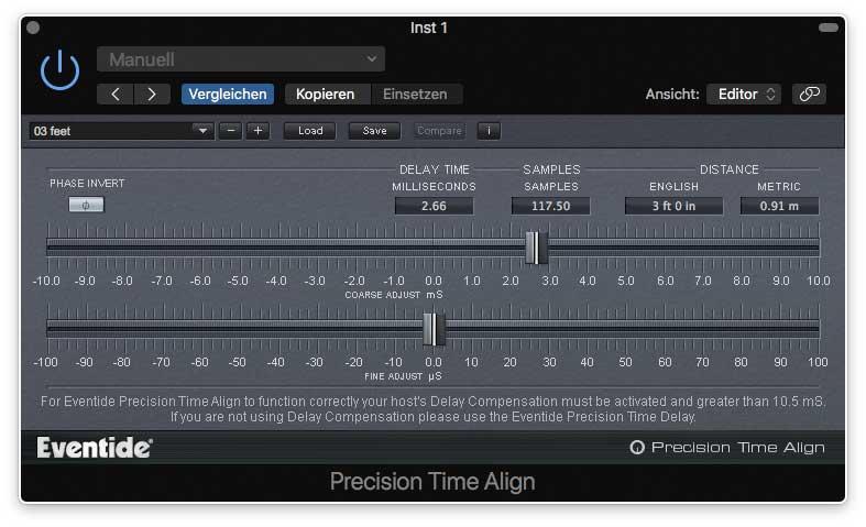 Eventide Precision Time Align