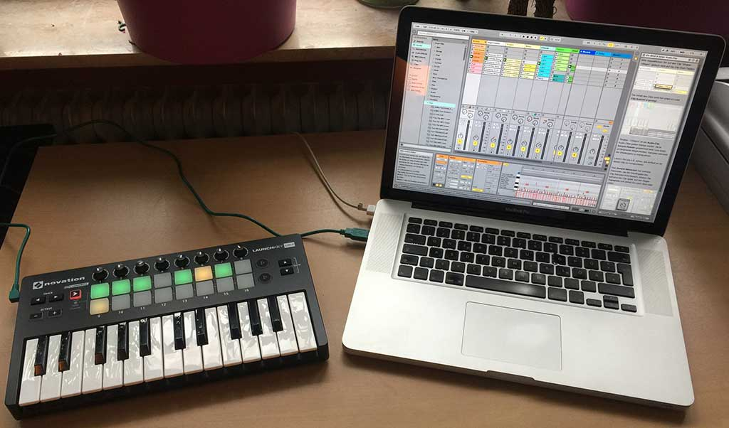 Haken-Tastatur an fl-Studio