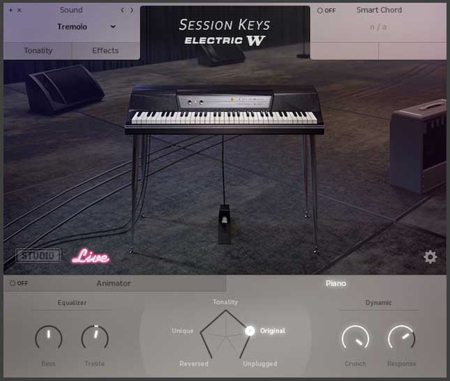 Session Keys Electric W live