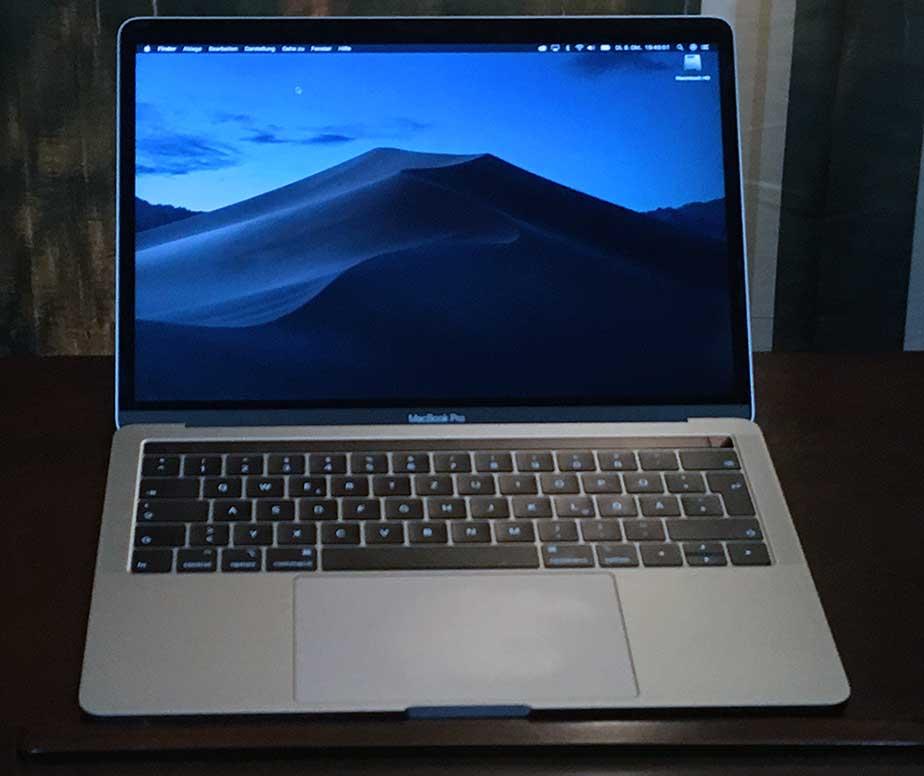 MacBook Pro 13 Zoll 2018