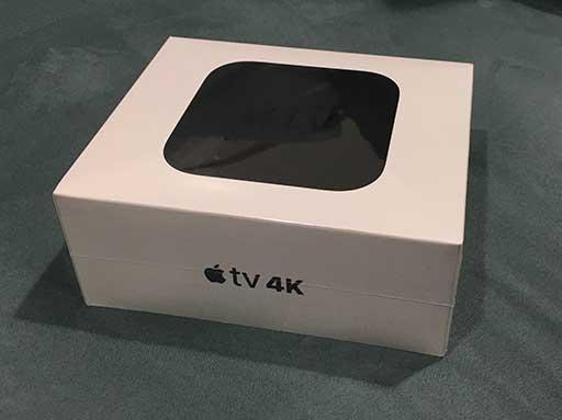Apple TV 4K Innenverpackung