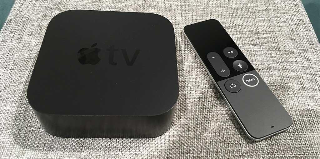 Apple TV 4K mit Fernbedienung