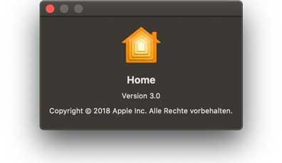 Home App macOS Mojave