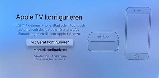 Apple TV 4K Einrichtung 2