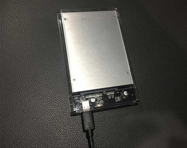 Eluteng HD-Gehäuse USB-C
