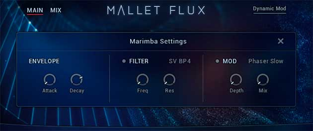 Mallet Flux Ensemble FX