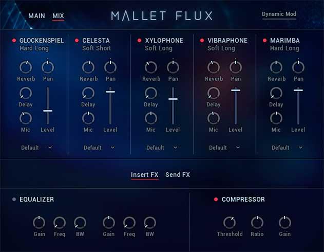 Mallet Flux Mixer