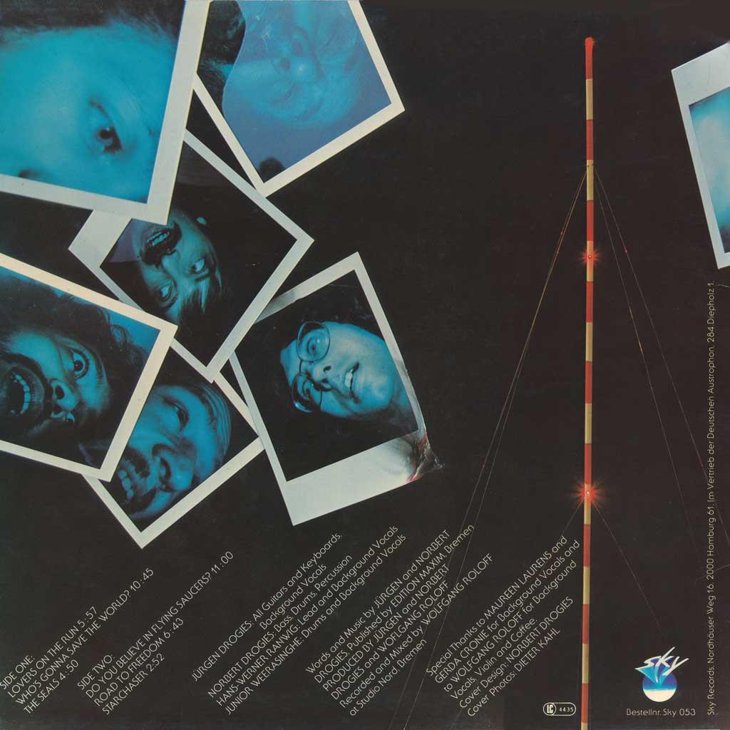 """Cover Rückseite """"Starchaser"""""""