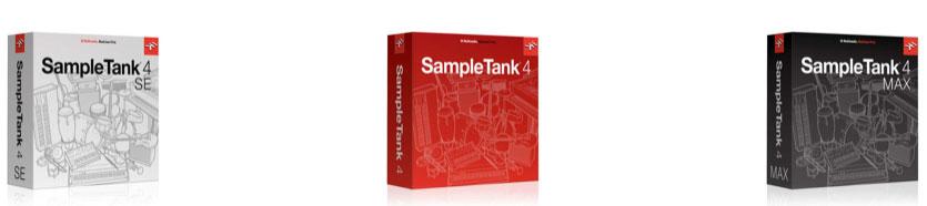 IK Multimedia SampleTank 4, 3 Versionen