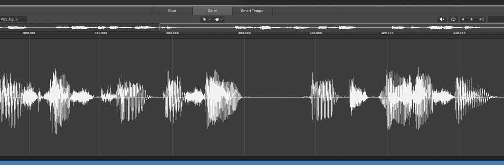 Logic Audio-Editor