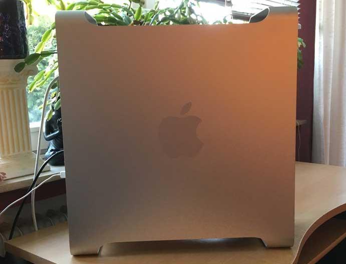 Mac Pro 5-1, Seitenansicht