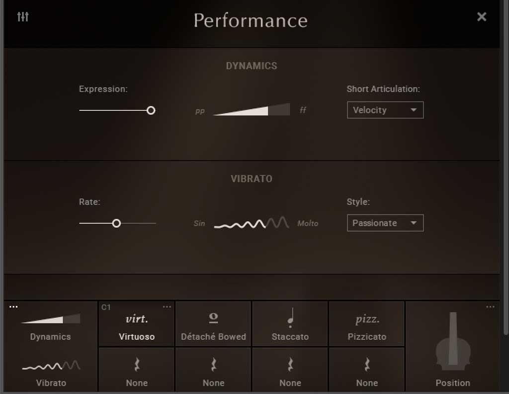 Die Performance-Einstellungen