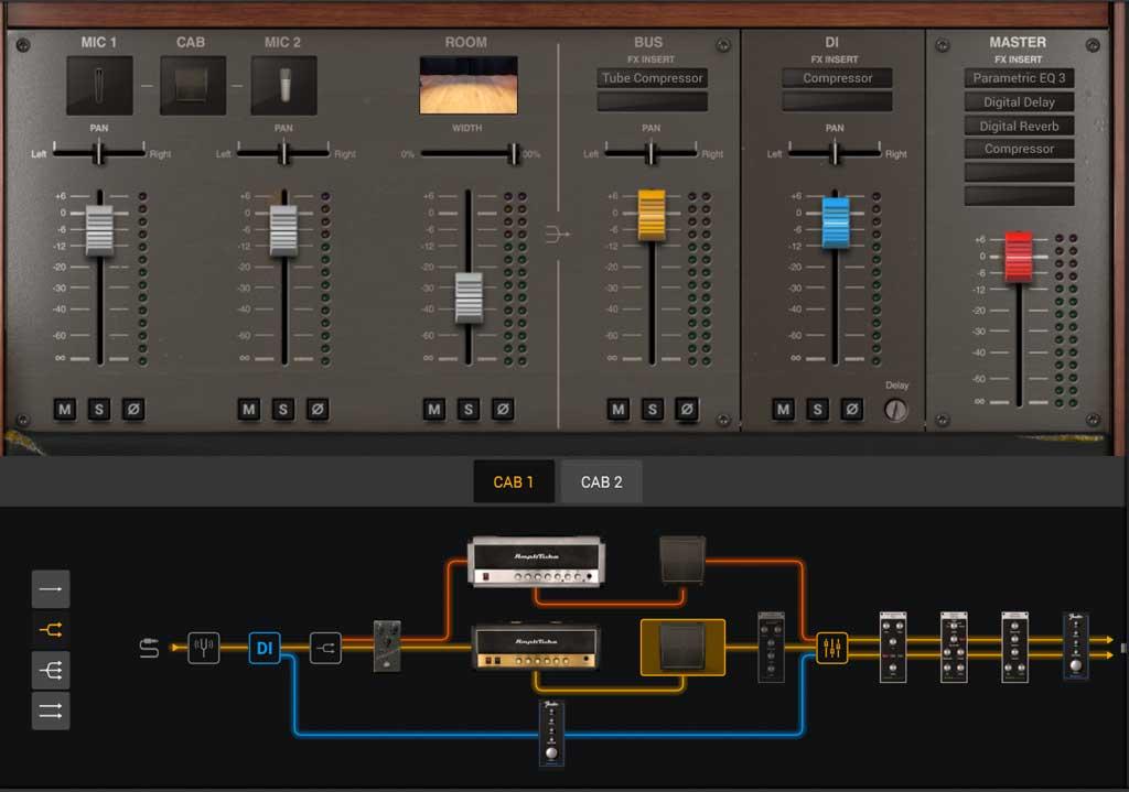 Mixer und Signalkette